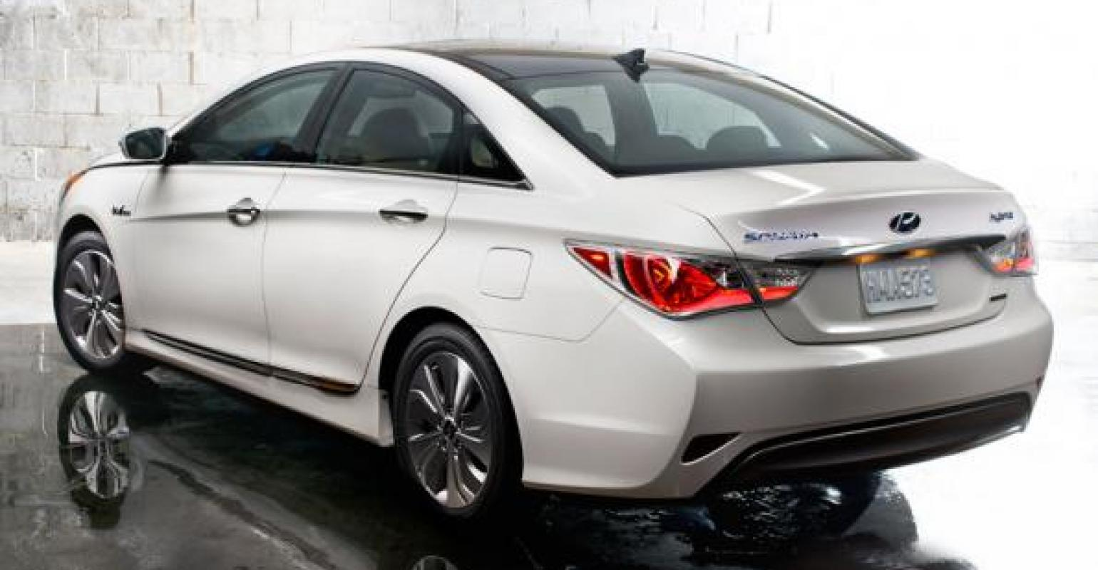 Marvelous Hyundai Boosts Sonata Hybrid For More Power, Fuel Economy