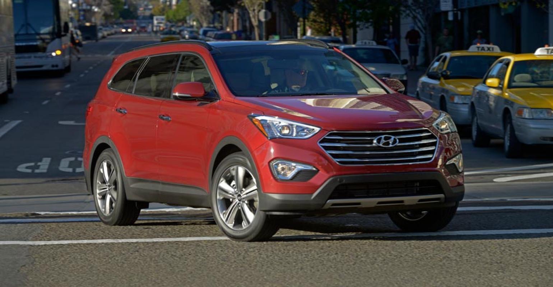 Hyundai Santa Fe 3 Row Overcomes Space Shortcomings Wardsauto