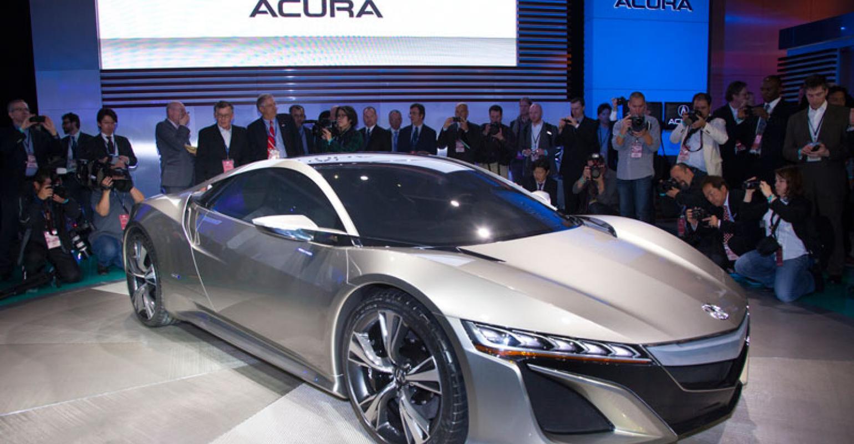 Honda To Build Acura Nsx In Marysville Wardsauto