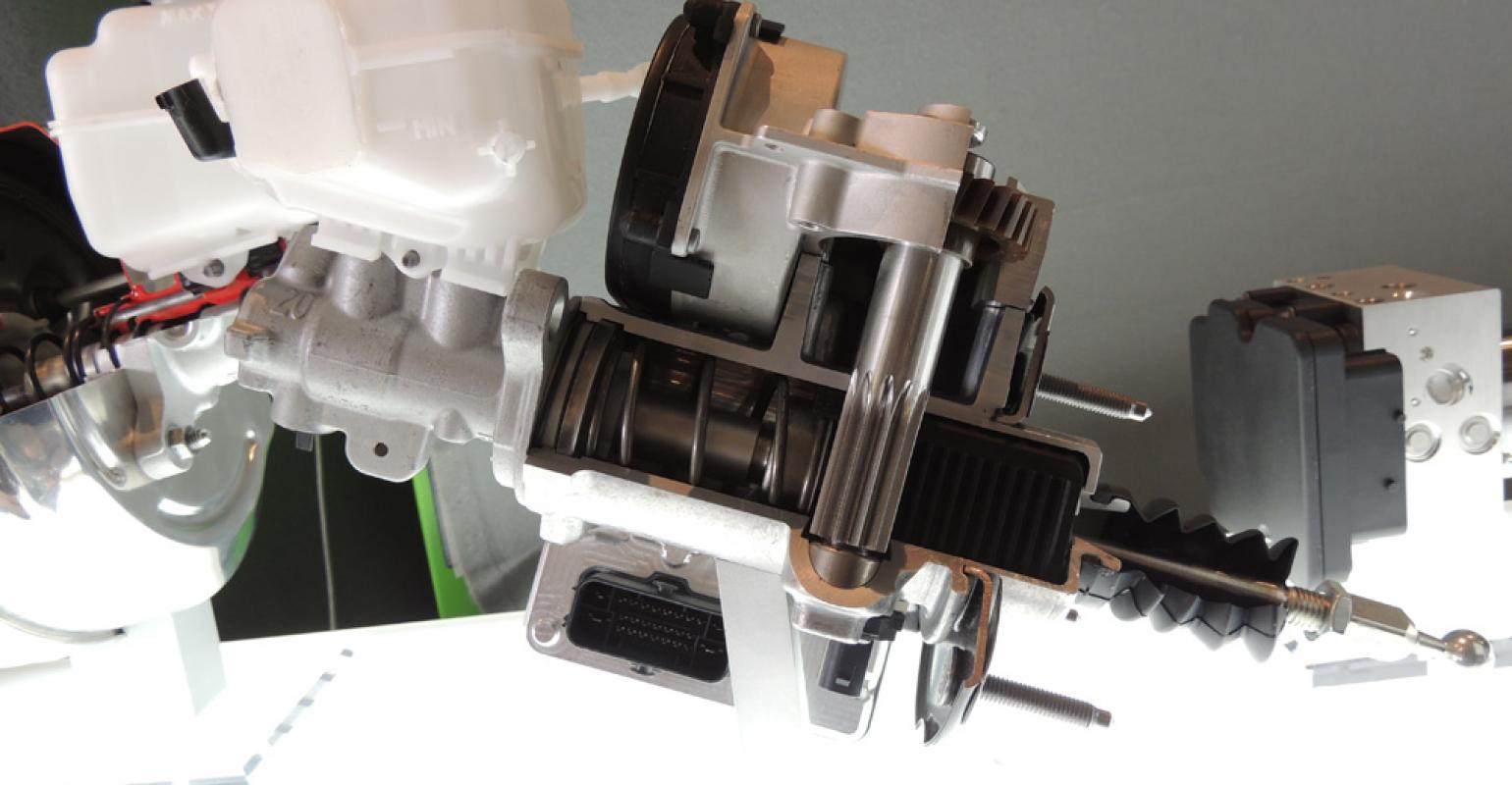 Bosch Rolling Out Vacuum Free Ibooster Wardsauto Volvo Pump Wiring Diagram