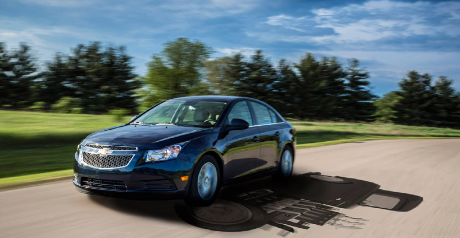 Chevrolet Cruze Owners Manual: Shifting Into Park