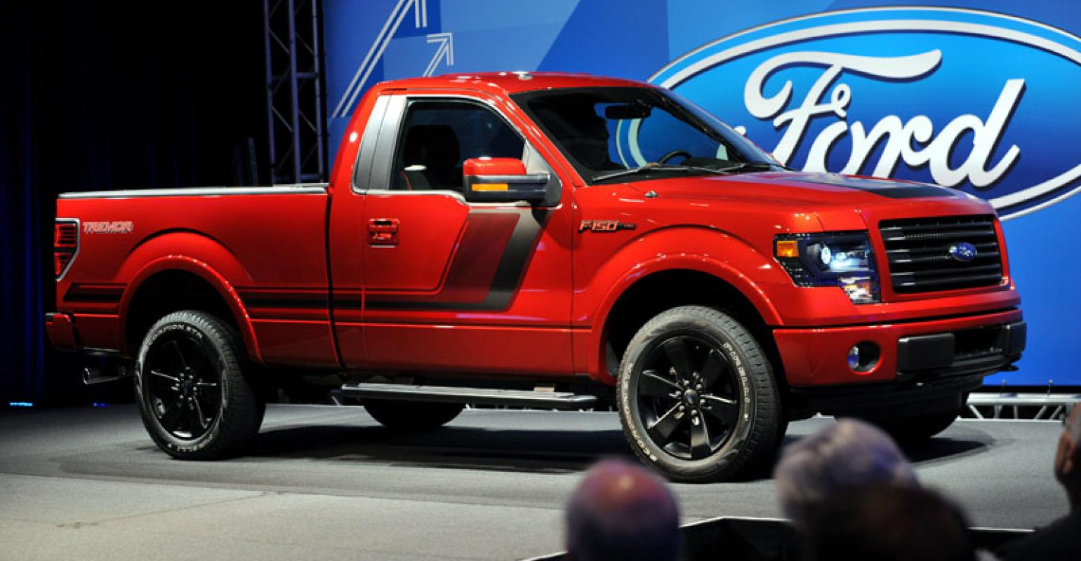 Ford Truck Enthusiast >> Ford F 150 Tremor Aimed At Street Truck Enthusiasts Wardsauto