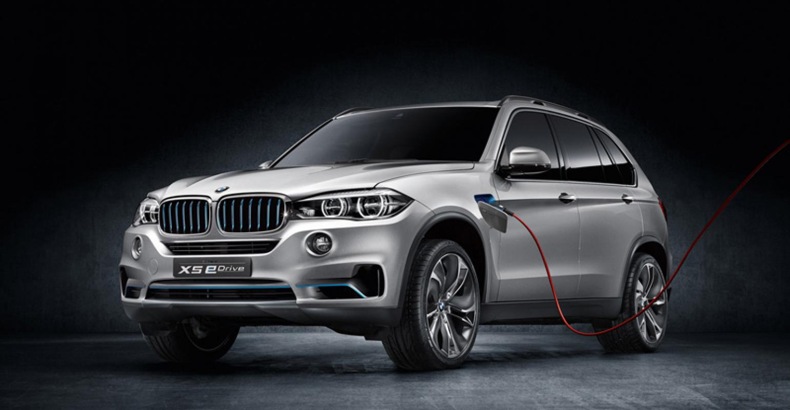 Bmw Concept X5 Edrive Sprints To 61 Mph In Under 70 Seconds