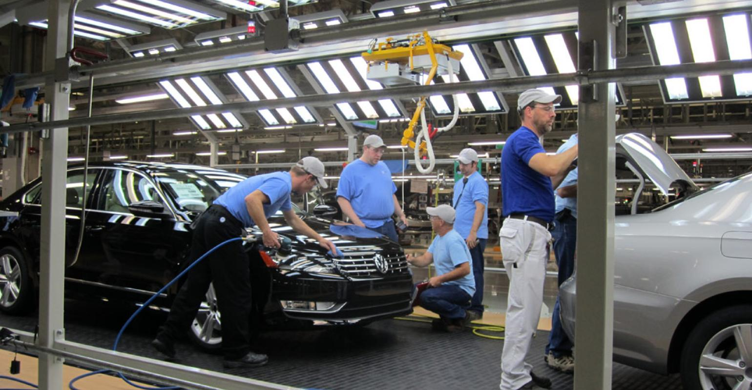 Chattanooga Plant To Serve As Benchmark For Upcoming Vw Factories
