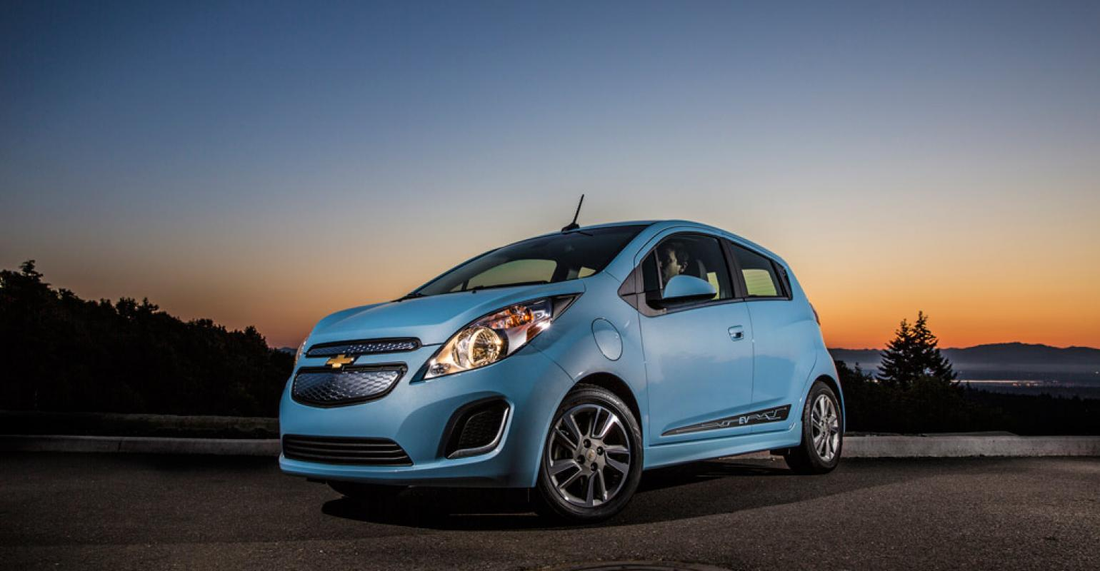 Rsquo14 Chevy Spark EV Welldone Execution Of Emerging Technology. U0027