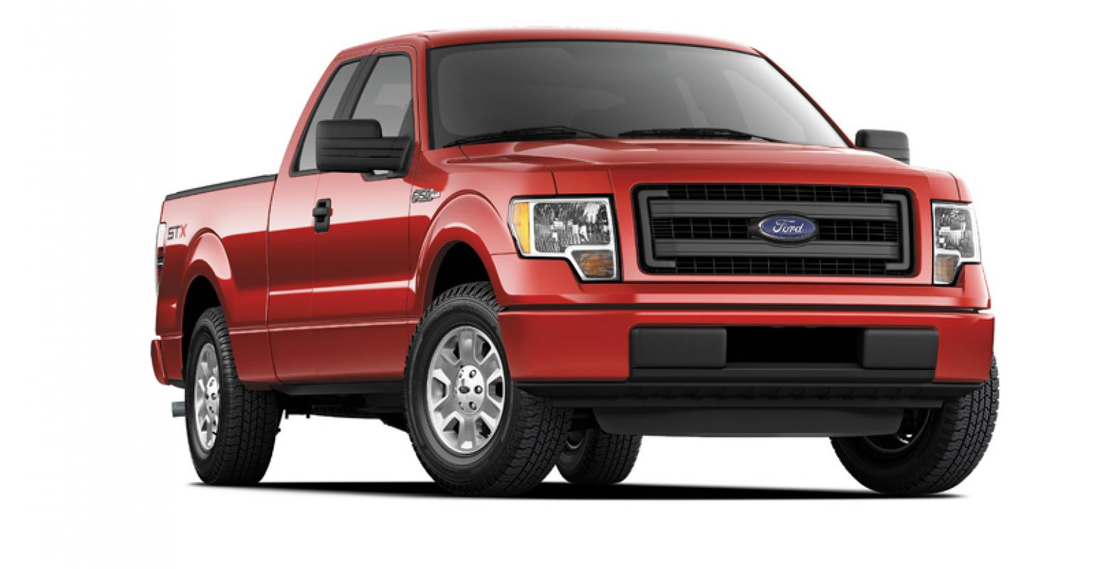 Ford f150 stx sport offers fewer amenities and lower price
