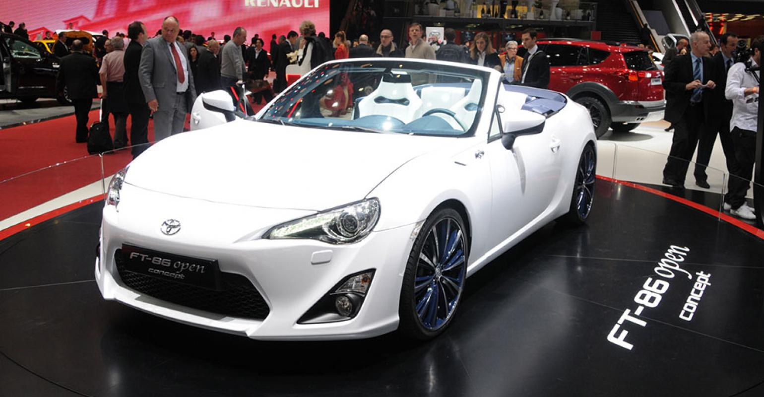 Scion Trying To Make Case For Fr S Convertible As Subaru Says No Thanks