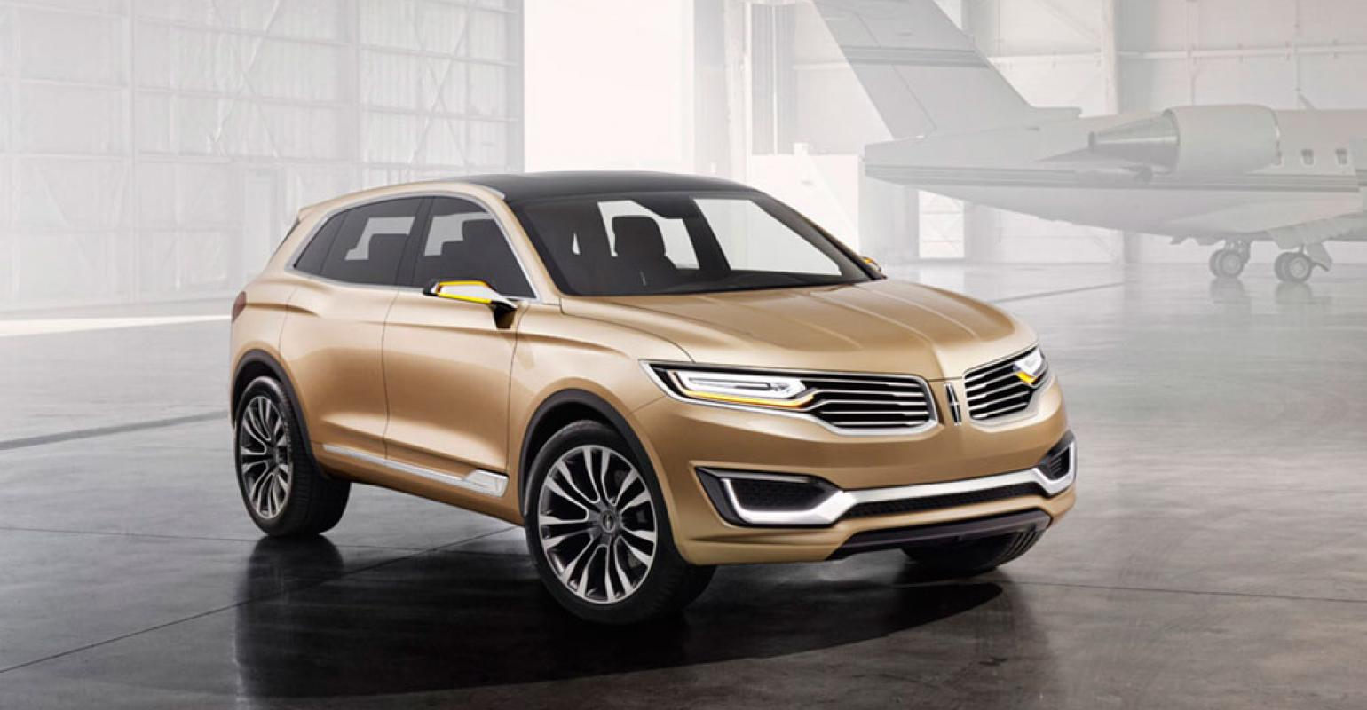 2020 Lincoln Mkx At Beijing Motor Show Release
