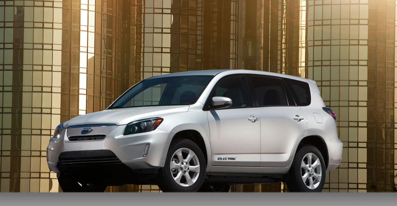 Toyota RAV4 EV Sales 1594 Through April WardsAuto Data Shows