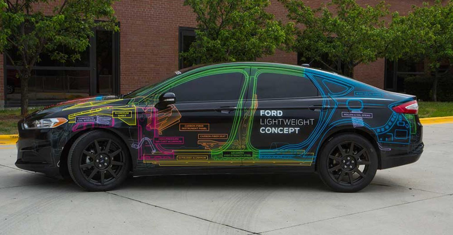 Ford Concept Car Takes Lightweighting To Extreme Wardsauto