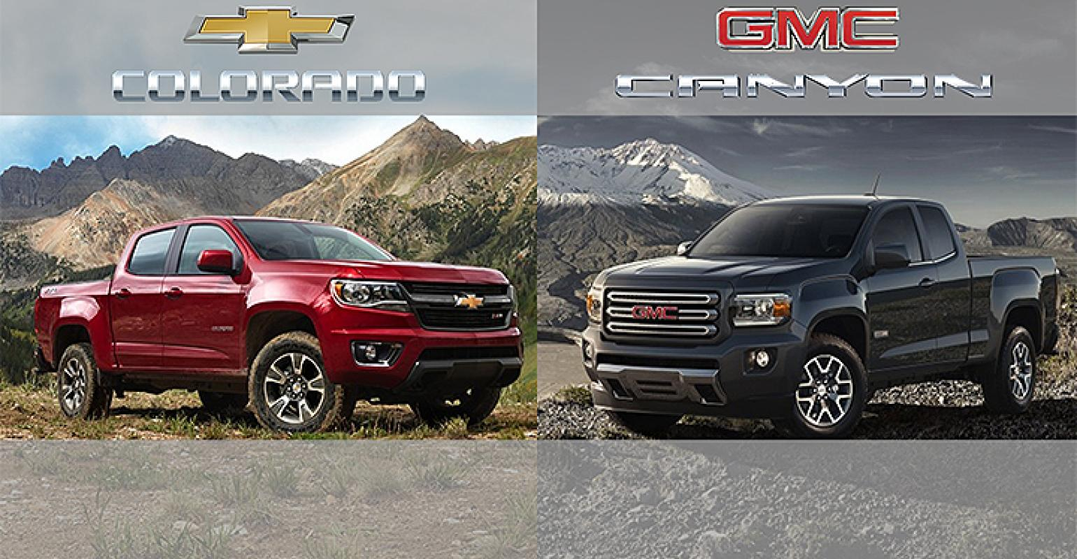 Canyon Vs Colorado >> Chevy Colorado Gmc Canyon Bold Move In Moribund Segment