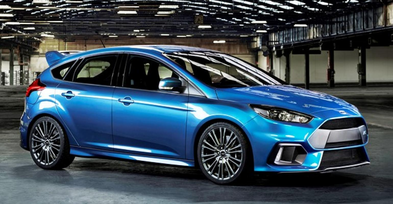 Ford focus rs joins awd hot hatch segment