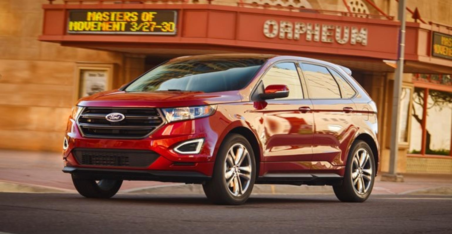 New 15 Ford Edge Stands Out In Crowded Cuv Segment Wardsauto