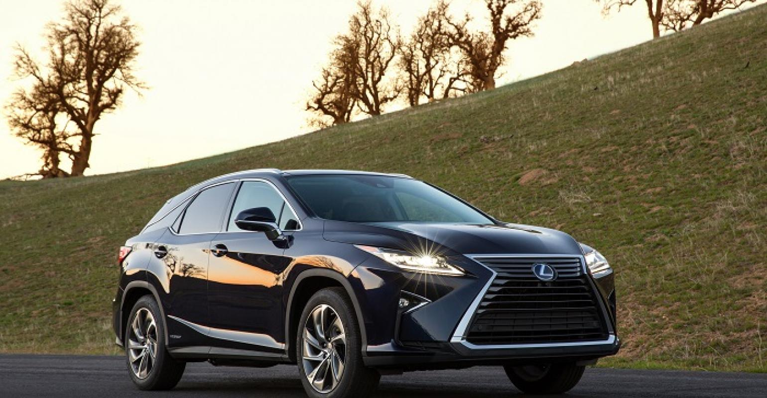 Fourth-Gen Lexus RX Breaks Cover | WardsAuto