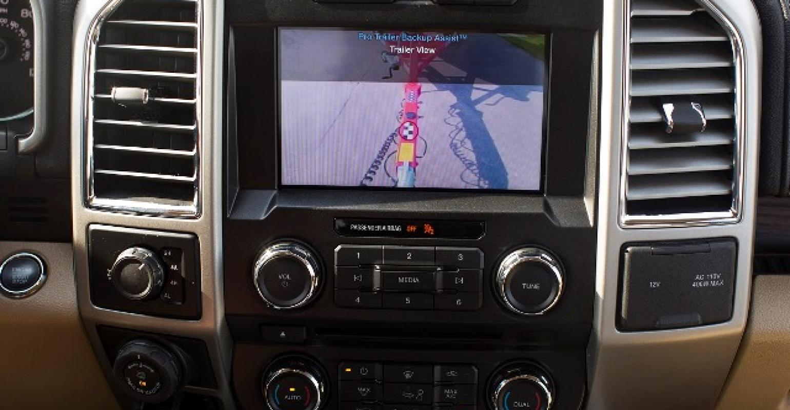 Ford Trailer Backup Assist >> Ford Reveals Pro Trailer Backup Assist System For F 150 Wardsauto