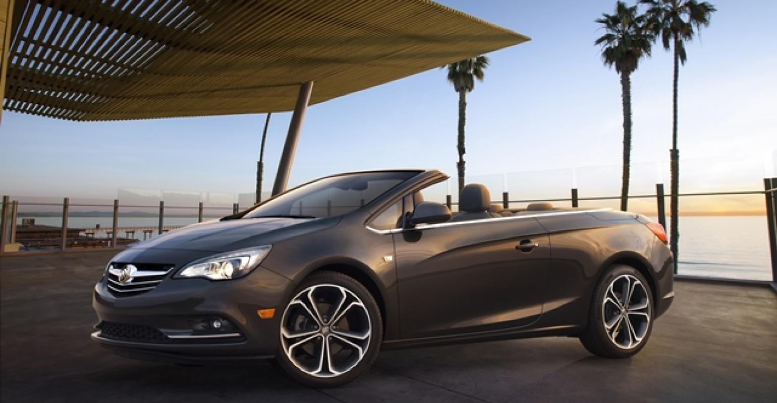 Buickrsquos New Convertible Looks Sharp Top Down
