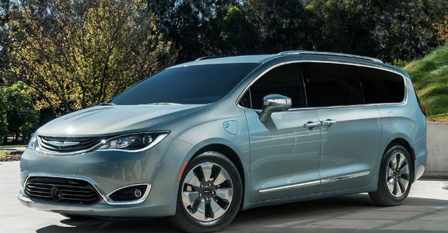 Flowing Lines And Planted Stance Give Rsquo17 Chrysler Pacifica New Take On Minivan Segment