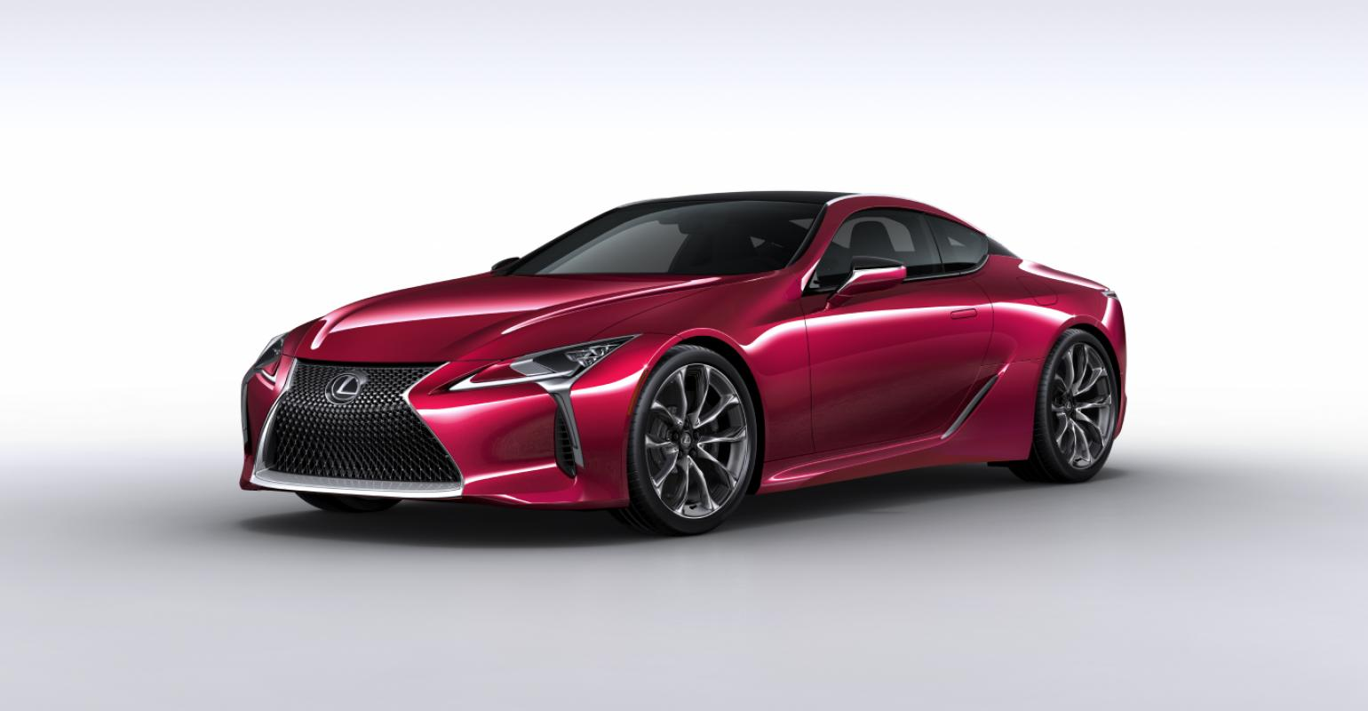 Lexus Lc 500 Features New Triple Led Headlamps
