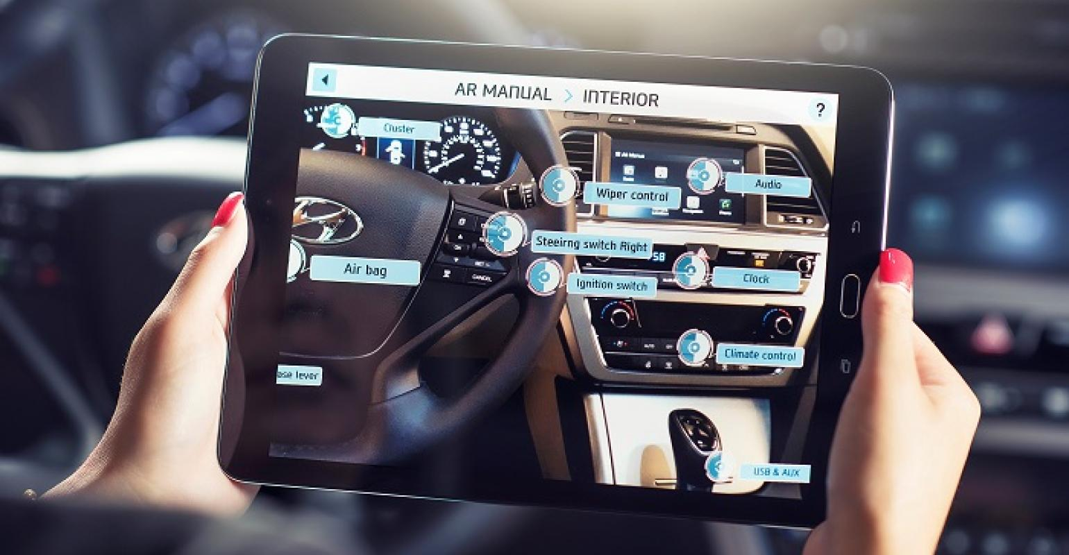 Hyundai App Looks to Supplement, Eventually Replace Owner's Manual