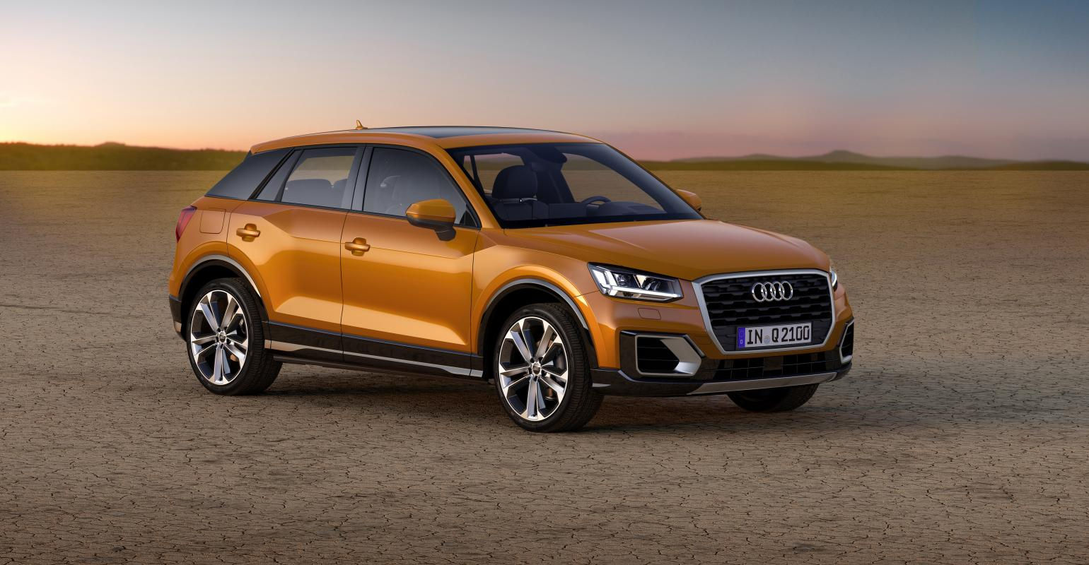 Audi Thinking With New Q2 5 Seat Compact Suv