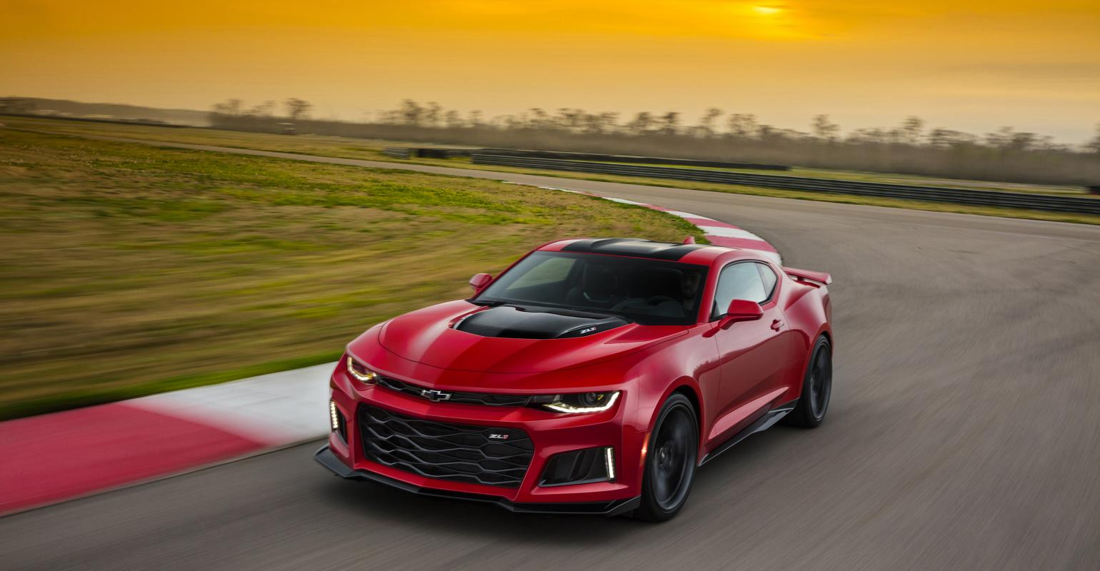 Gm Revs Up Another Chevrolet Camaro Zl1