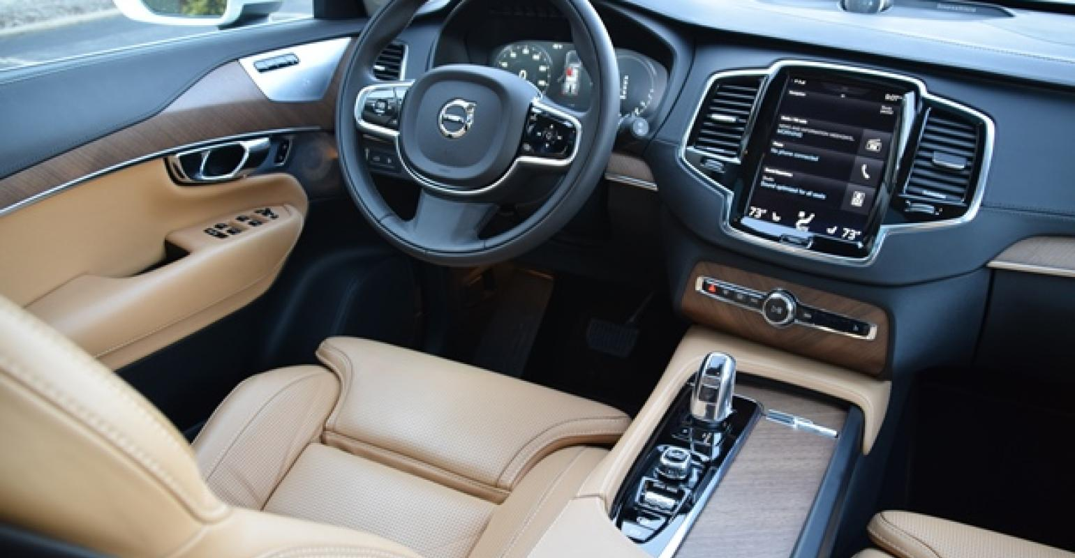 Volvo Xc90 Cabin Delivers Hypnotic Beauty Wards 10 Best Interiors