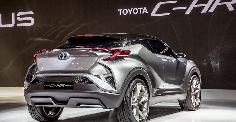 Toyota C Hr Concept S Design Language Tech