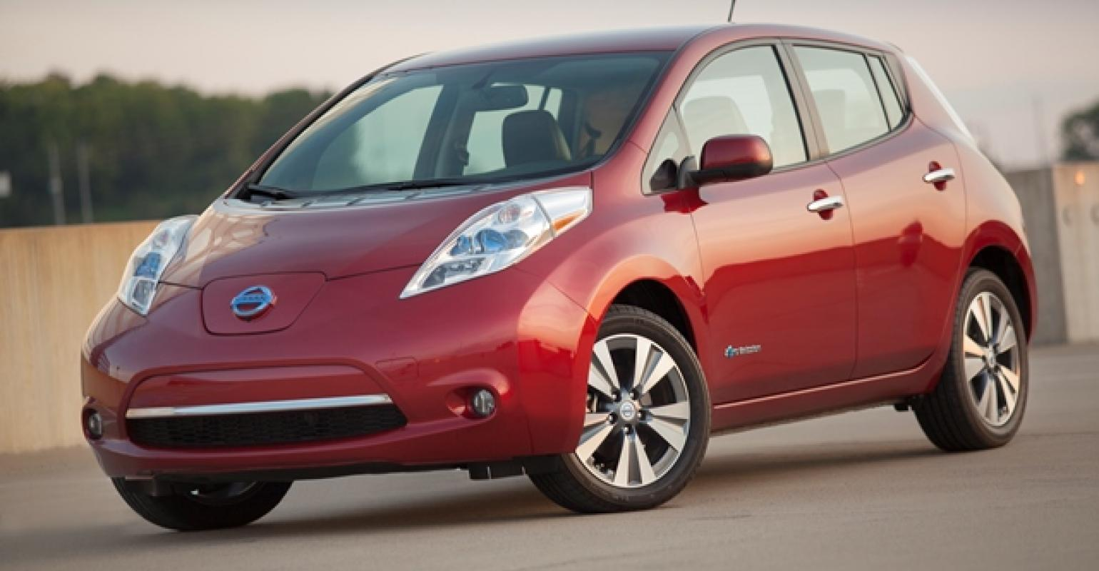Nissan Leaf Values Falling Fast