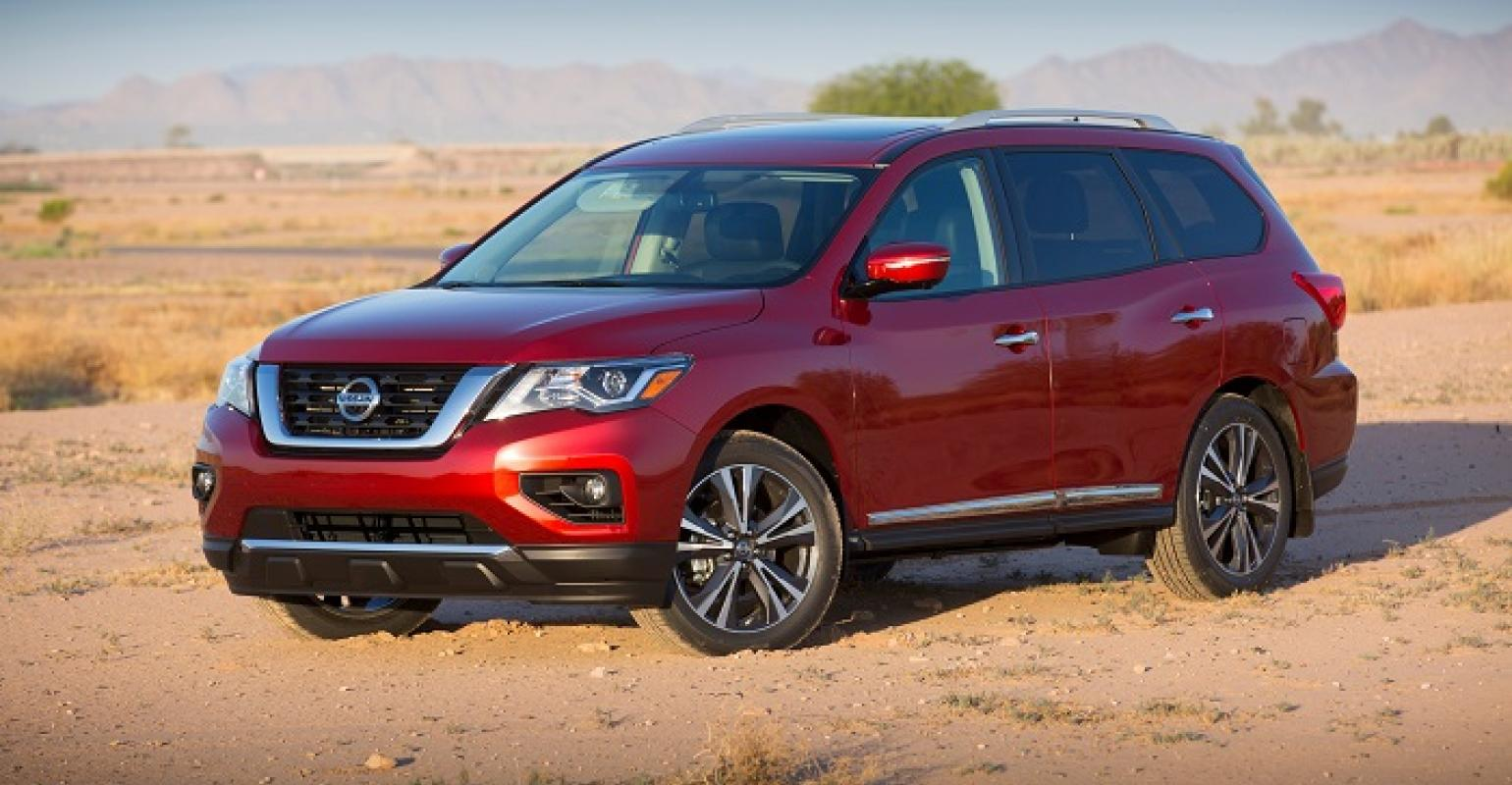 Nissan Updates Pathfinder S Looks For 17