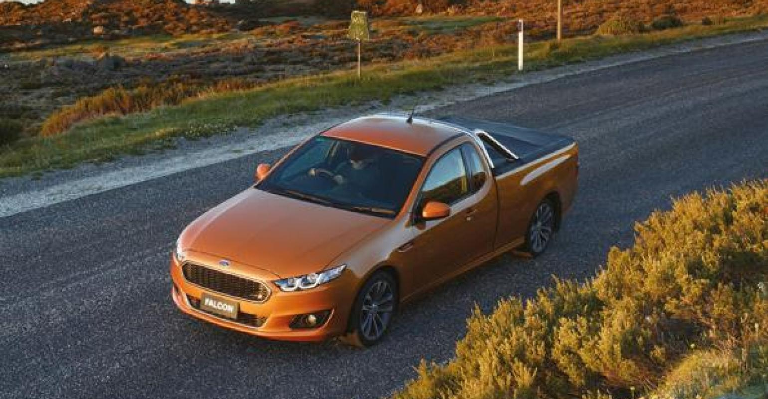 Ford australia website continues featuring defunct falcon