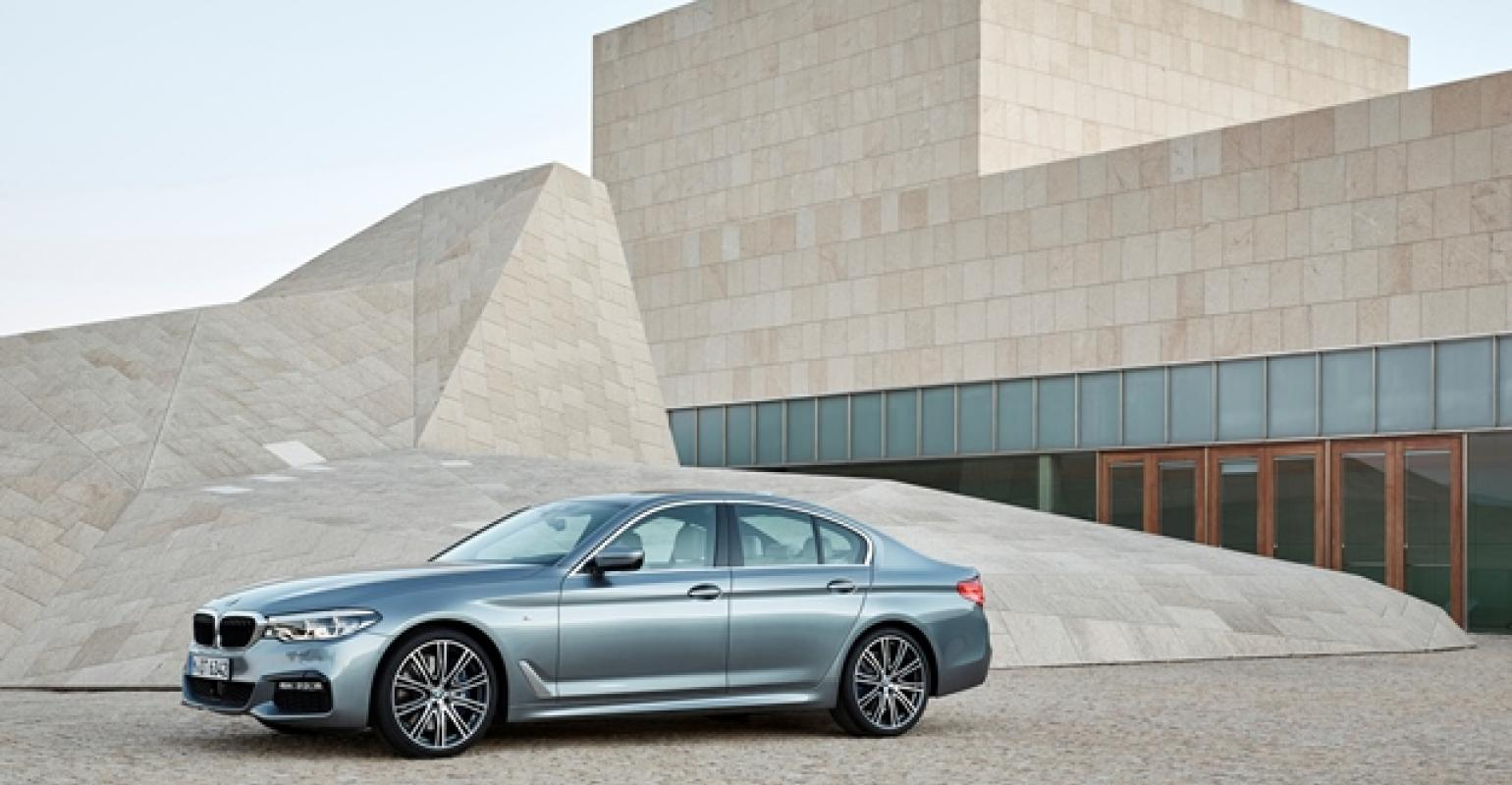 BMW | New 5-Series Packed With New Technology, Broad Engine Lineup