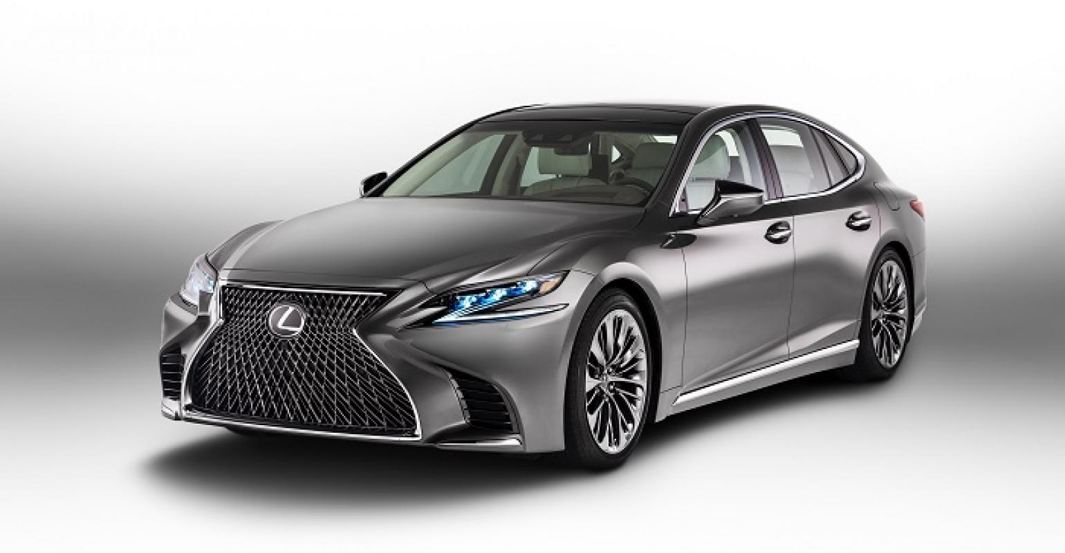new lexus ls | luxury sedan has 10-speed automatic, twin-turbo v-6
