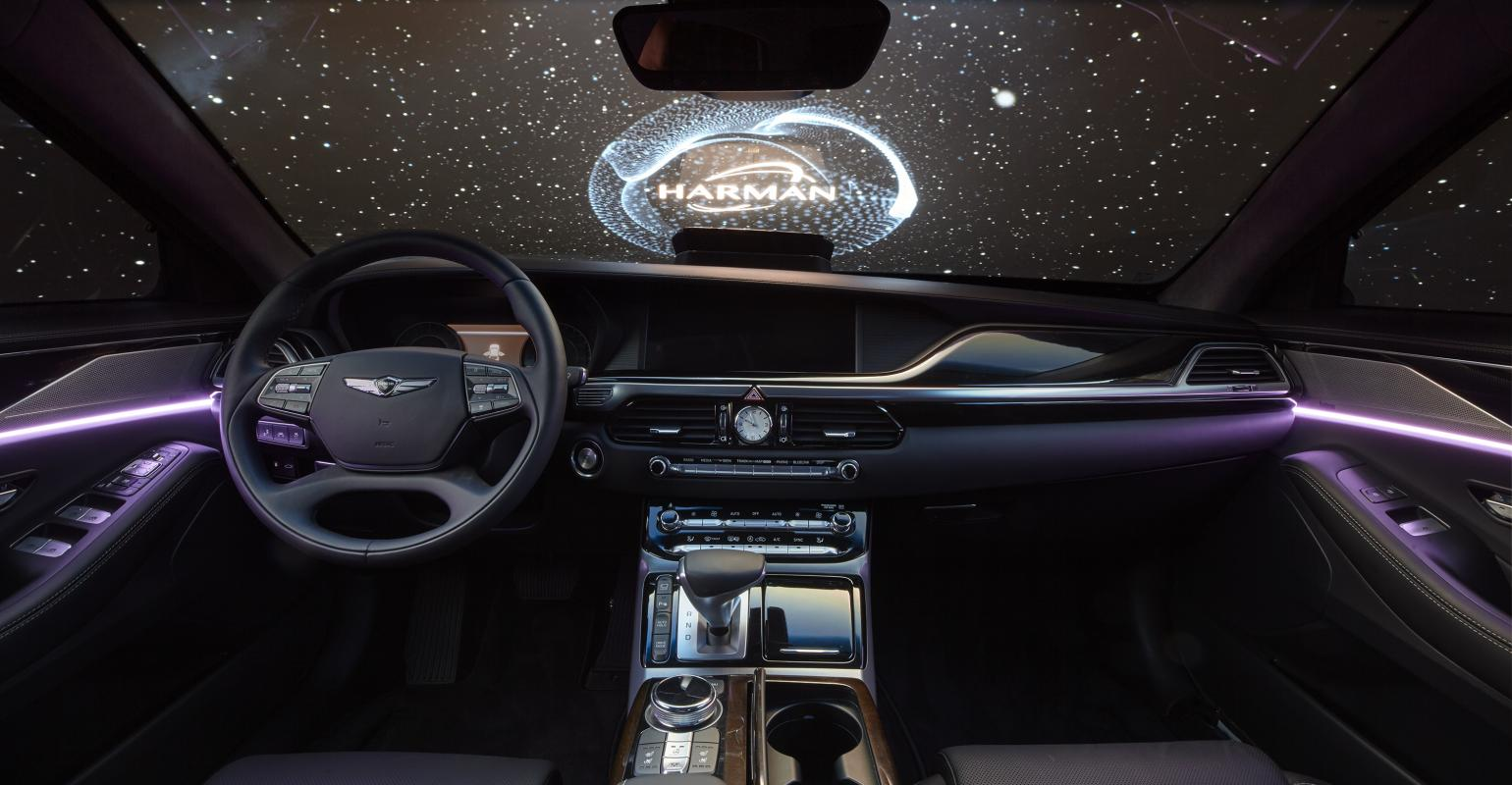 What to Do Behind Wheel of Self-Driving Car? Harman Has