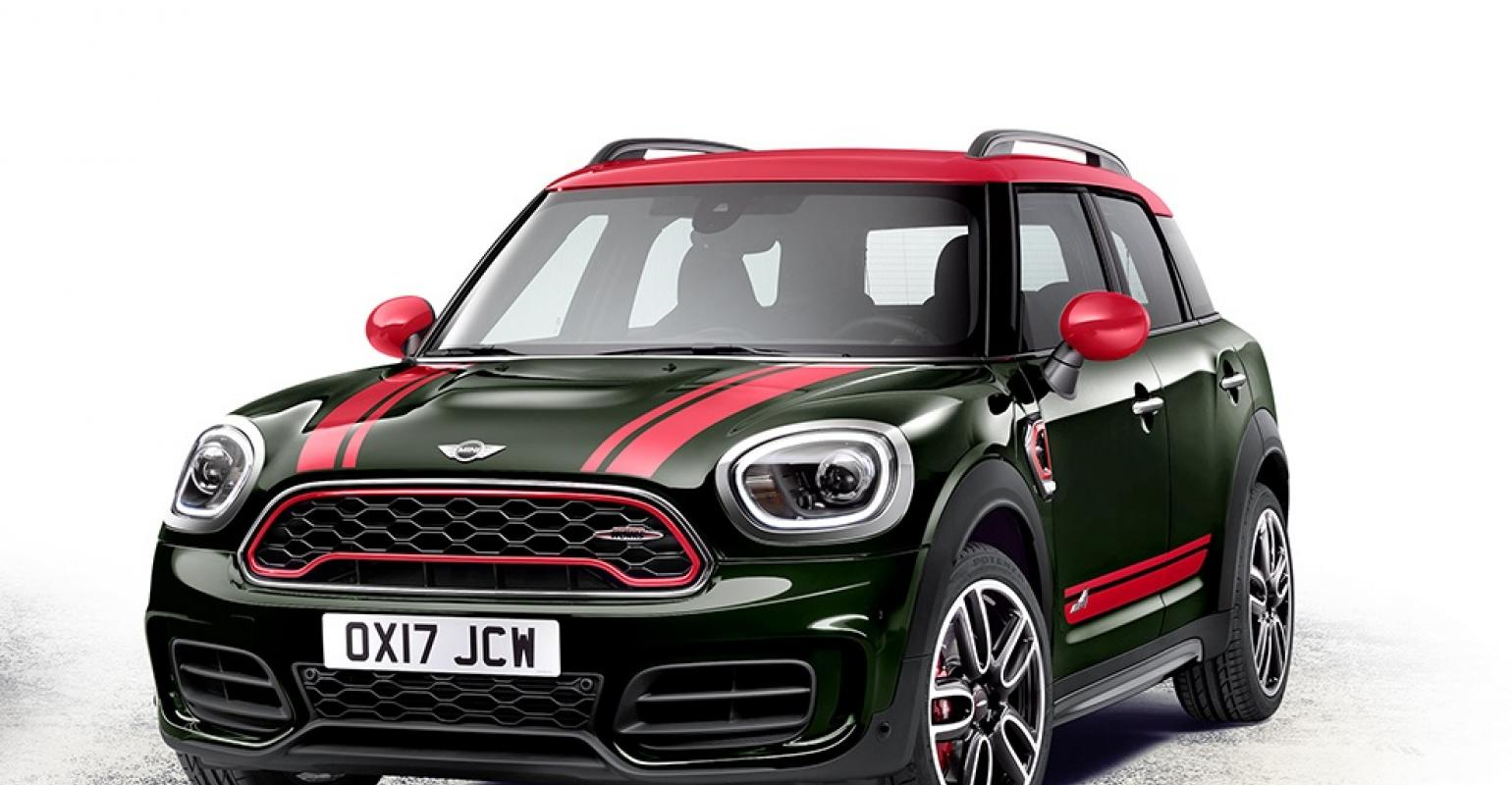Mini Power Numbers Dialed Up For New John Cooper Works Countryman