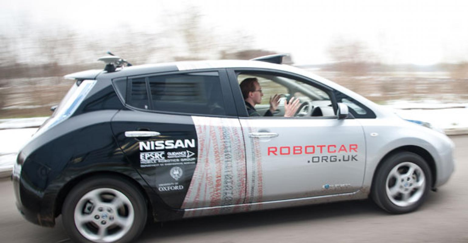 Nissan Among Automakers Testing Autonomous Driving In Uk