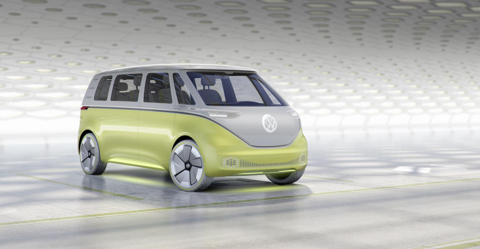 Vw S I D Buzz Packages High Tech Under Retro Skin