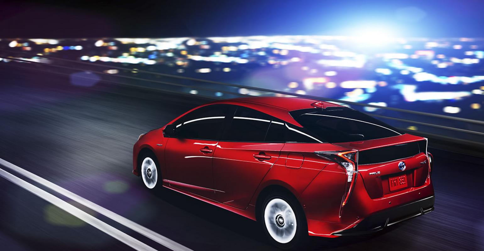 Prius In Familiar Territory As No1 Hybrid Of 2016