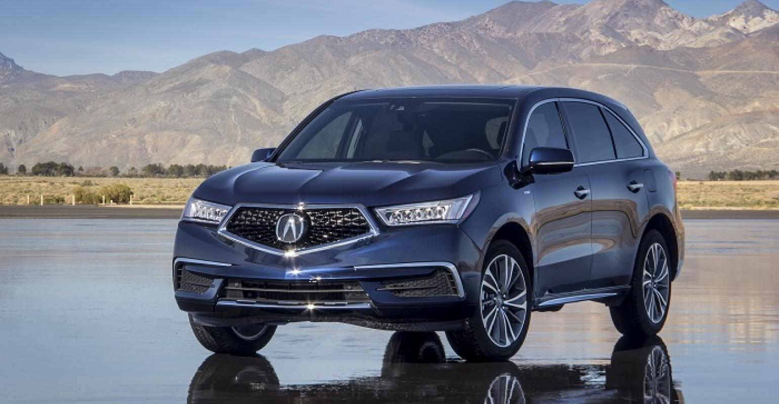 3918 Acura Mdx Sport Hybrid On In April Us
