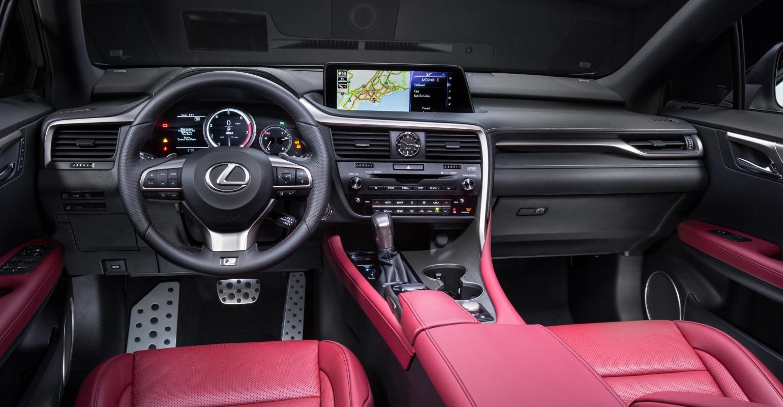 Craftsmanship, User Friendly Tech Distinguish Lexus RX Interior