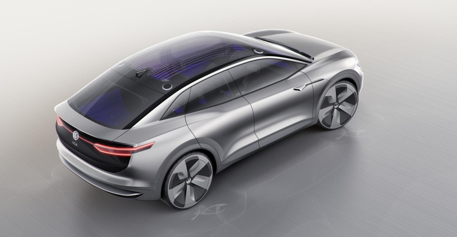Volkswagen Adds I D Crozz Cuv To Electric Lineup