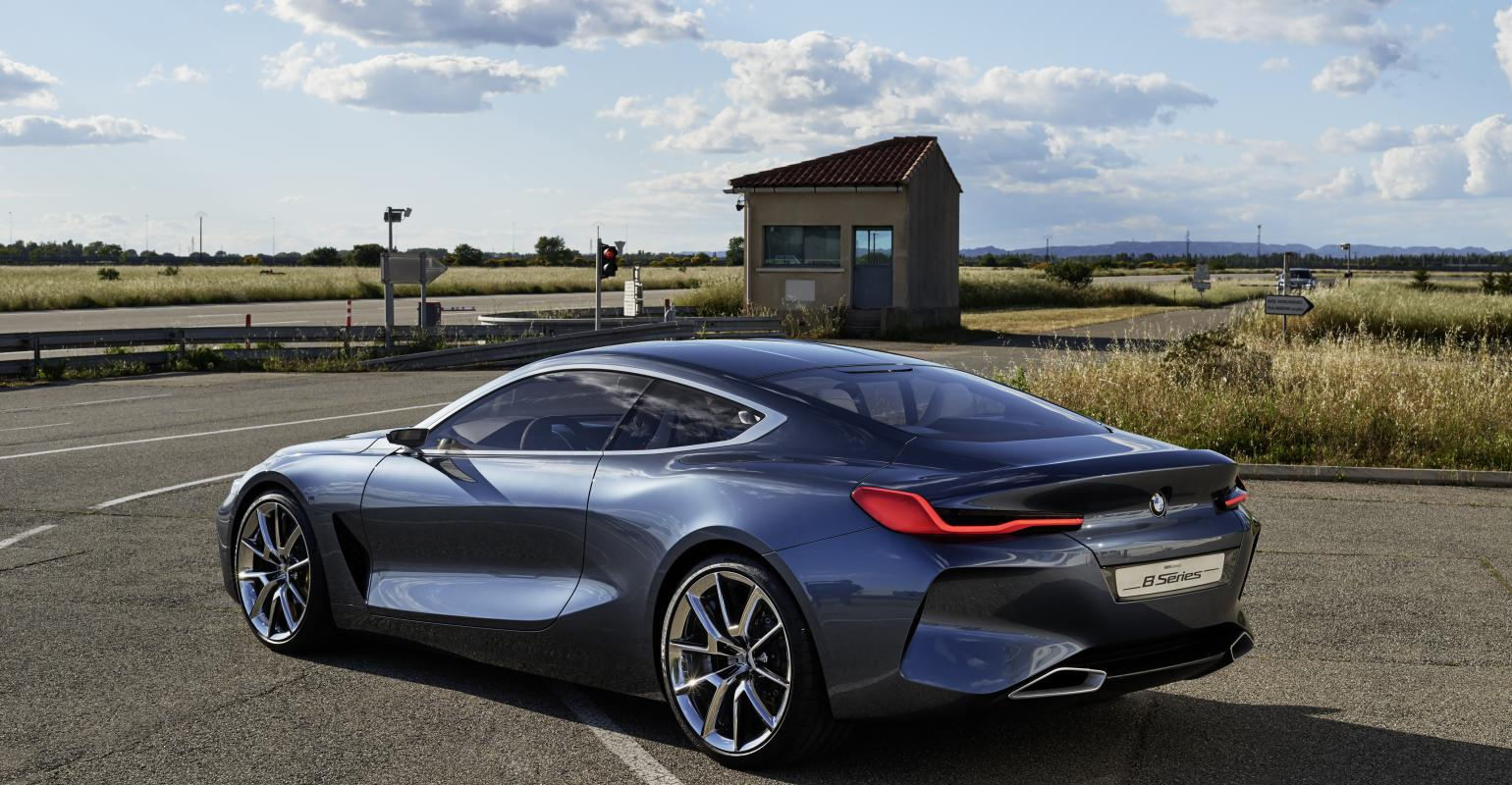Bmw Says 8series Fullblooded Driving Machine