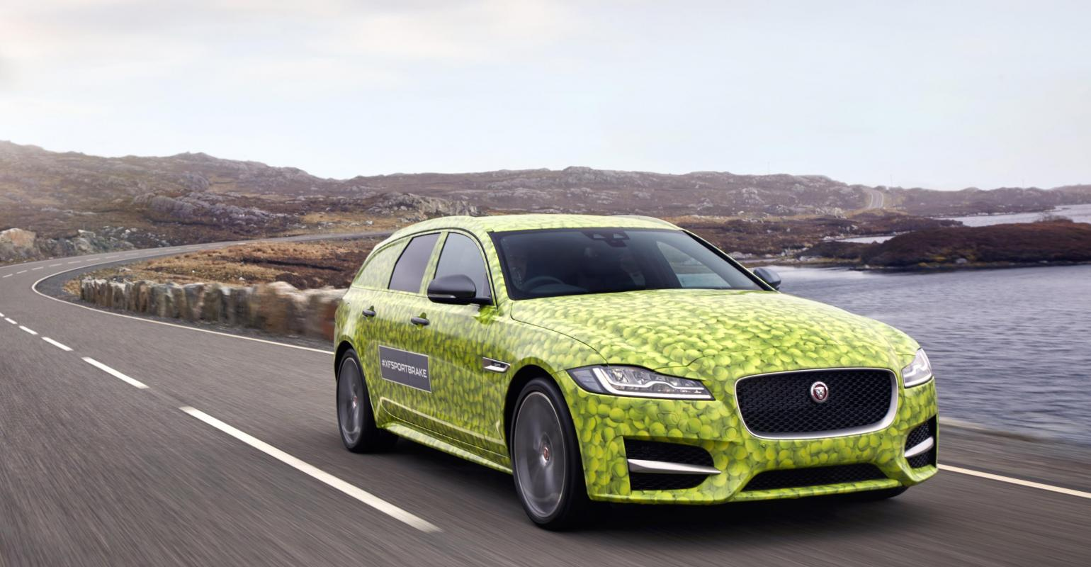 Jaguar Offers Look At Upcoming Sports Station Wagon