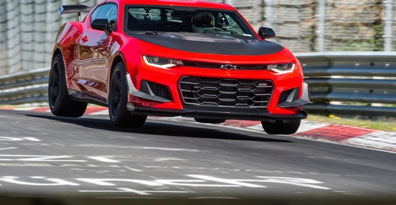 General Motors Chevy Camaro Zl1 1le Sets Personal Nurburgring Time Wardsauto