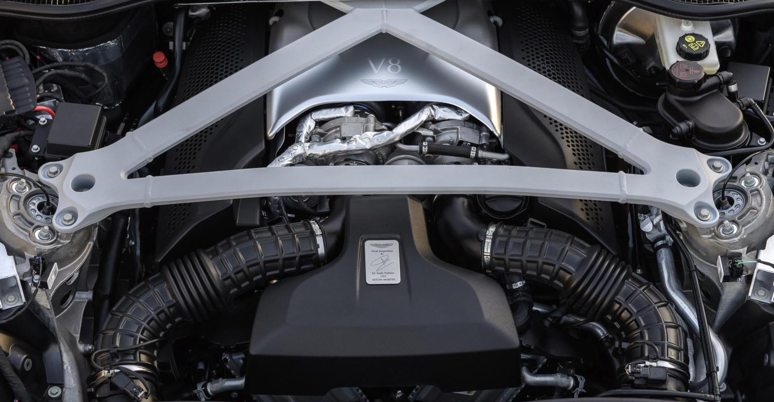 Aston Martin Db11 Gets Downsized V 8 Engine With China In Mind