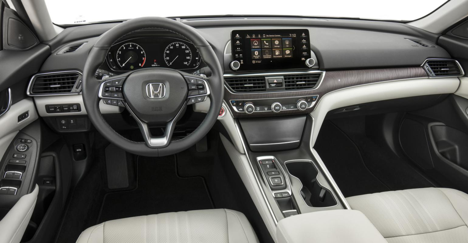 Rsquo18 Honda Accord Interior Features Thinner Ip To Create More E