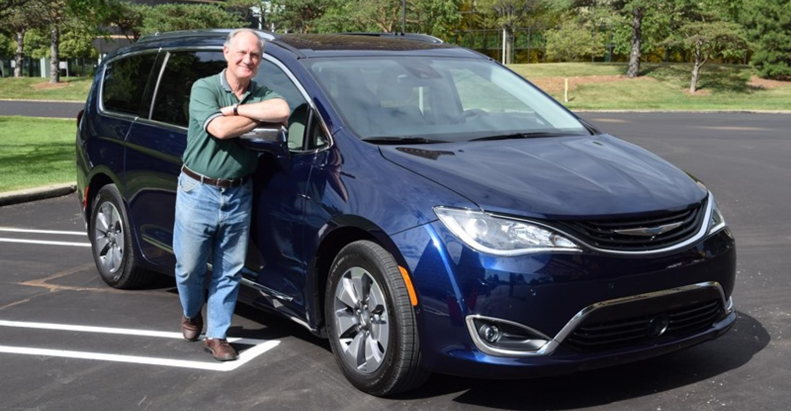 Me And My Phev Minivan But No Prisoners The Chrysler Pacifica