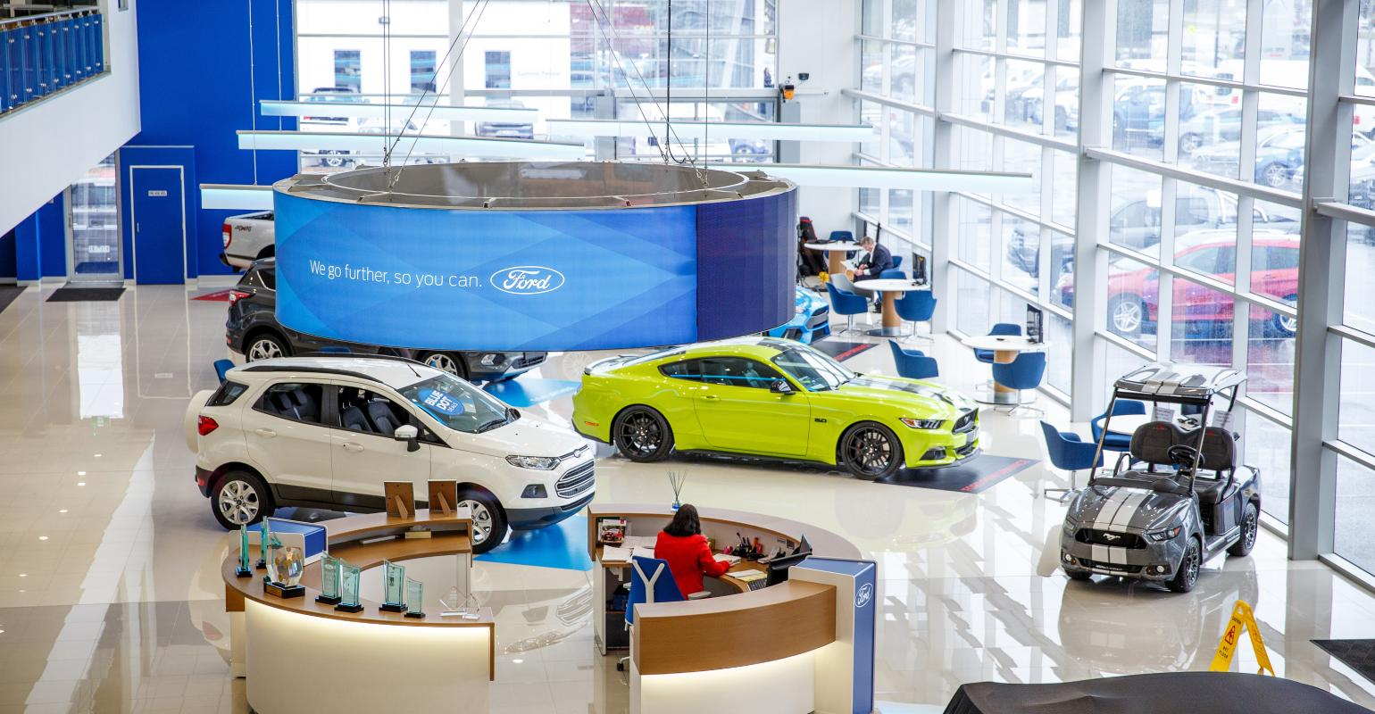Ford Australia Showroom Of The Future Puts Consumers In Control Engines Opens Melbourne Suburb