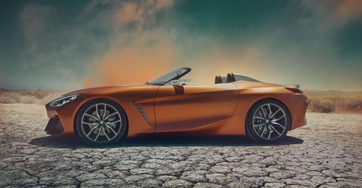 Bmw Unveils Concept Z4 Roadster At Pebble Beach