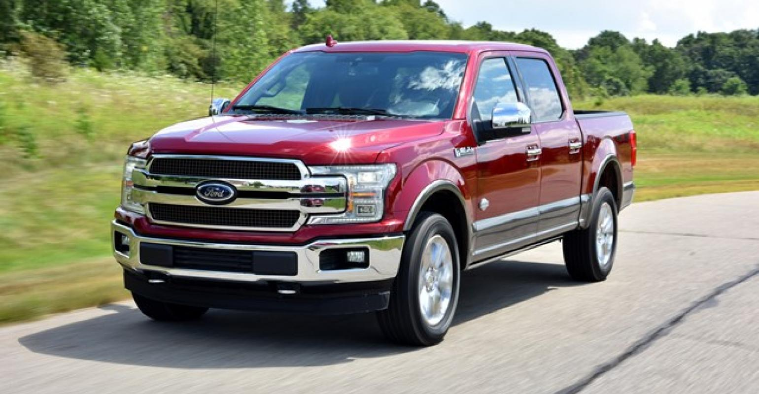 F150 gets new front end but big news is under hood