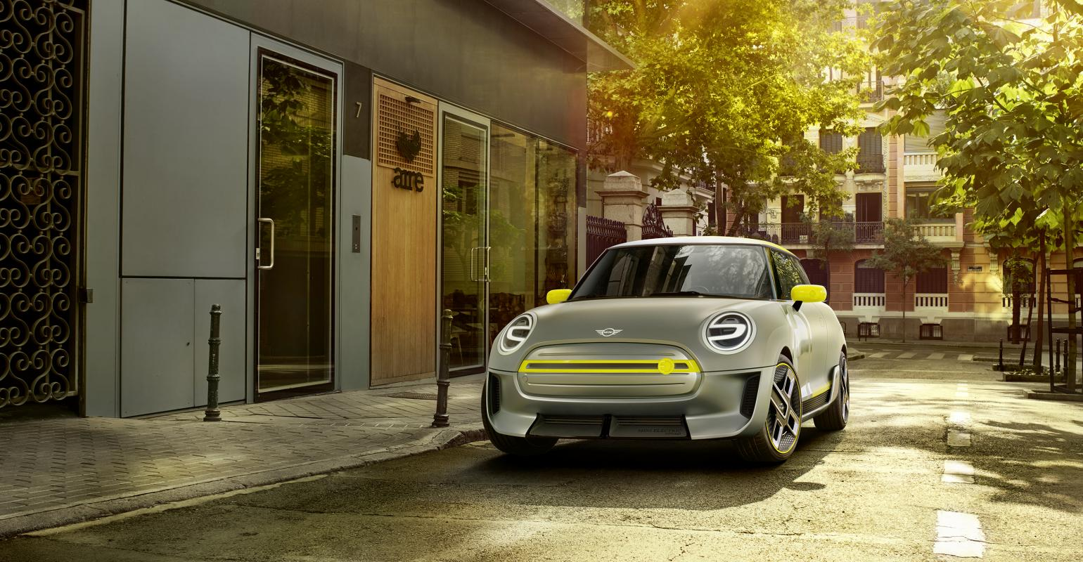 Mini Bmw S Electric Vehicle Technology Migrates To Mini Concept